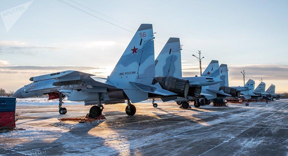 Los últimos cazas Su-35S