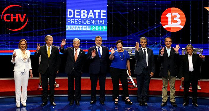 Candidatos a la presidencia de Chile
