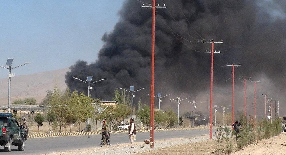 Atentado terrorista en Afganistán (archivo)