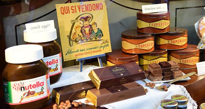 Un aniversario de Nutella, uno de los productos más famosos de Italia