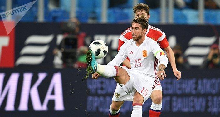 Juego amistoso Rusia-España