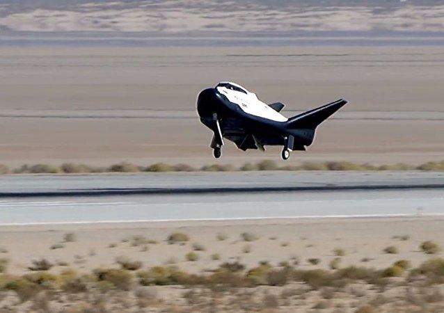 El primer aterrizaje exitoso de la nave espacial Dream Chaser