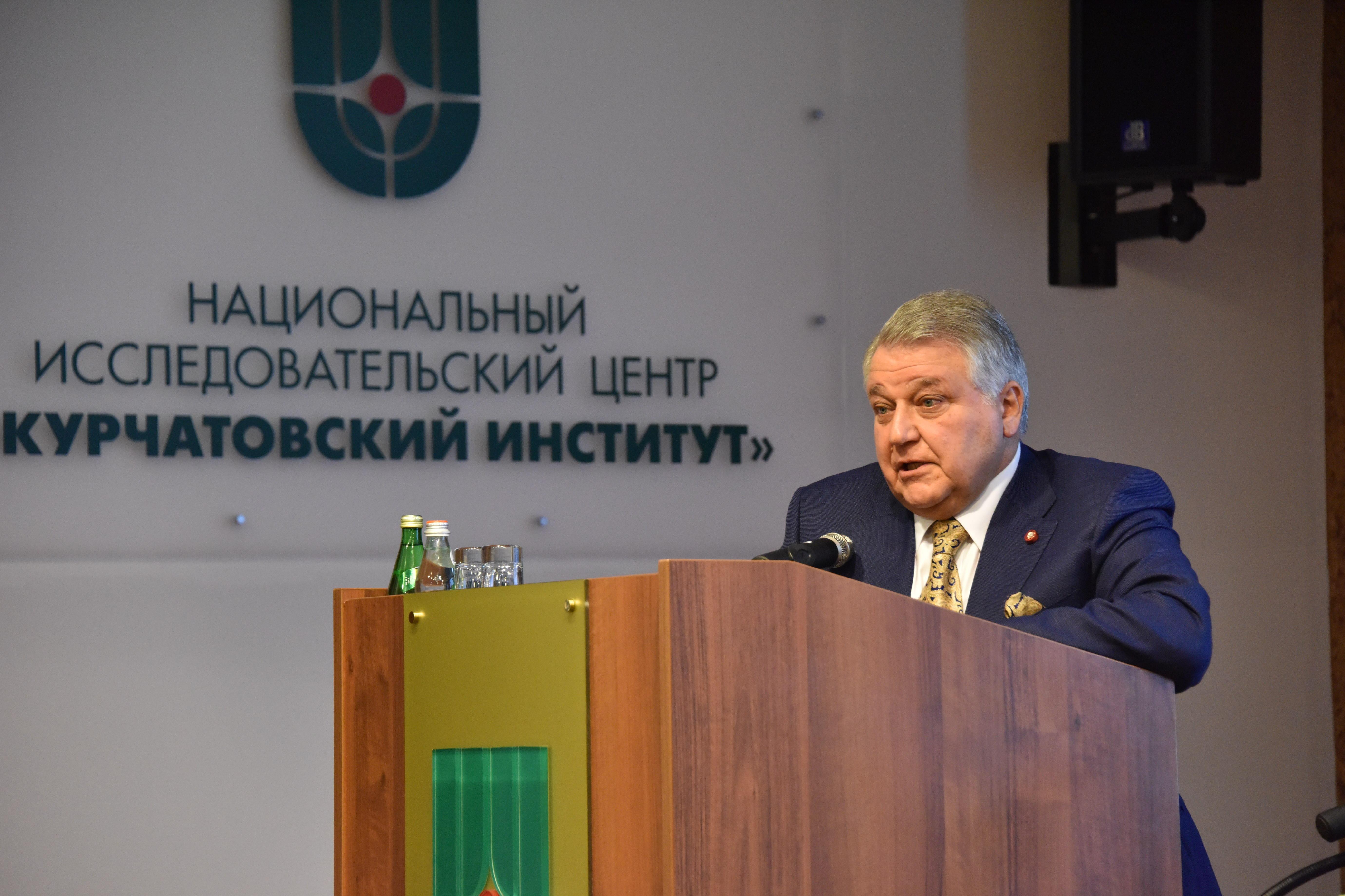 Mijaíl Kovalchuk, presidente del Instituto Kurchátov, y uno de los impulsores de CREMLIN