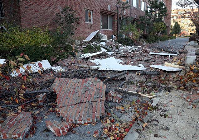 Terremoto en Corea del Sur