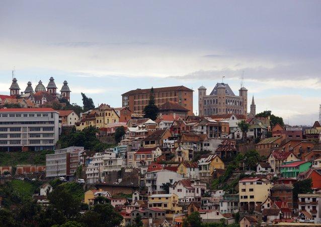 Antananarivo, la capital de Madagascar