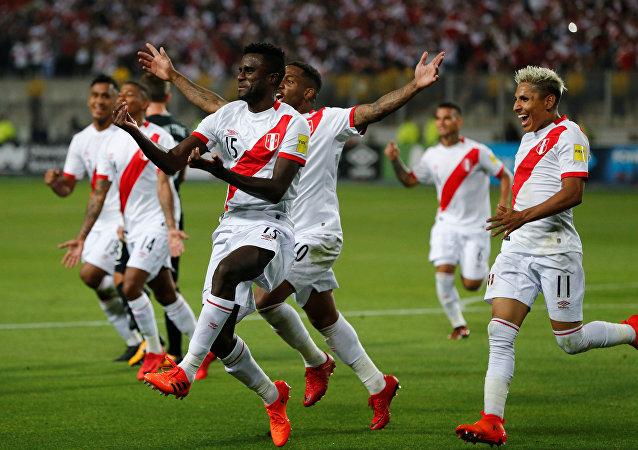 La selección de Perú