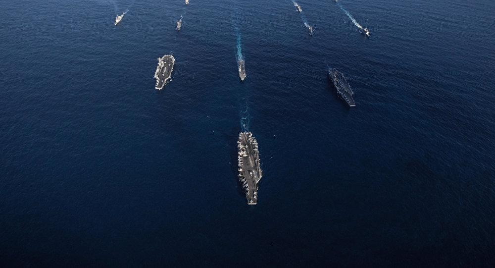 Maniobras de gran escala de EEUU y Japón