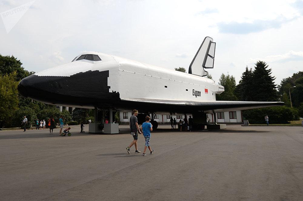 El modelo de pruebas en tamaño real del transbordador Buran
