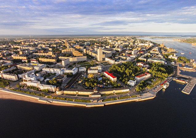 La belleza ártica de Arjánguelsk