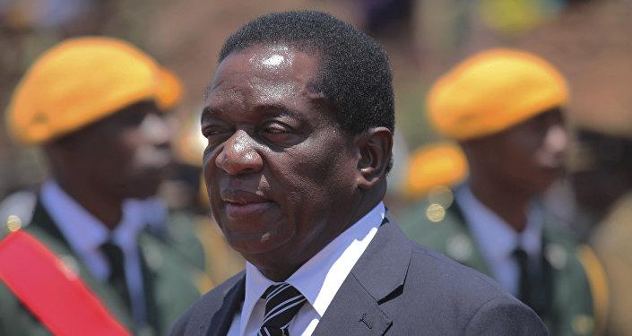 Emmerson Mnangagwa, vicepresidente de Zimbabue