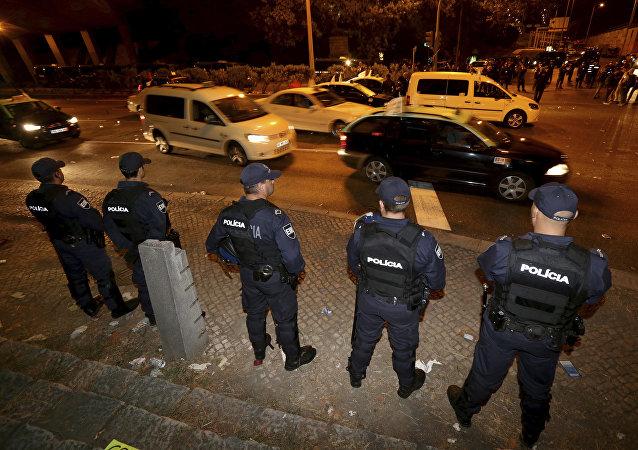 La policía de Portugal (imagen referencial)