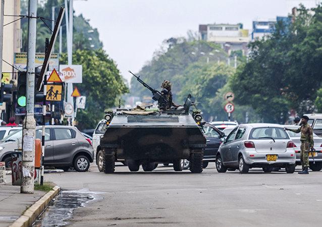 Situación den Zimbabue