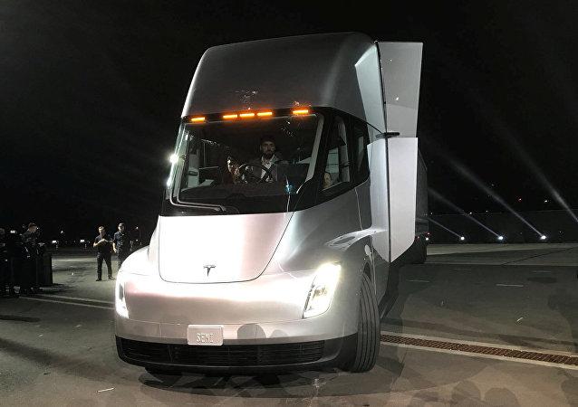 El nuevo Tesla Semi