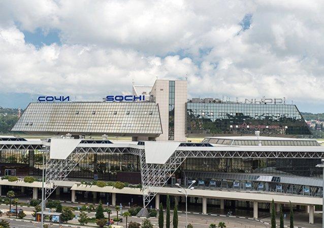 Aeropuerto de Sochi, Rusia