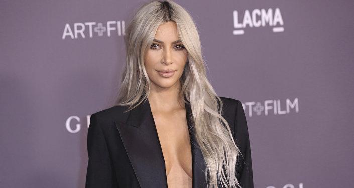 Kim Kardashian West, celebridad estadounidense