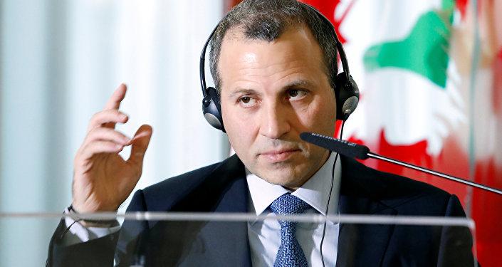 Gebran Bassil, ministro libanés de Exteriores
