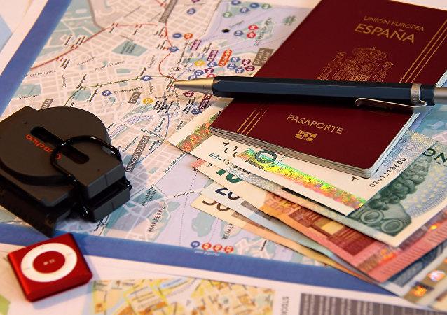 Un pasaporte español (imagen referencial)