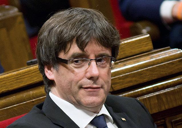 Carles Puigdemont, el expresidente del Gobierno catalán (archivo)