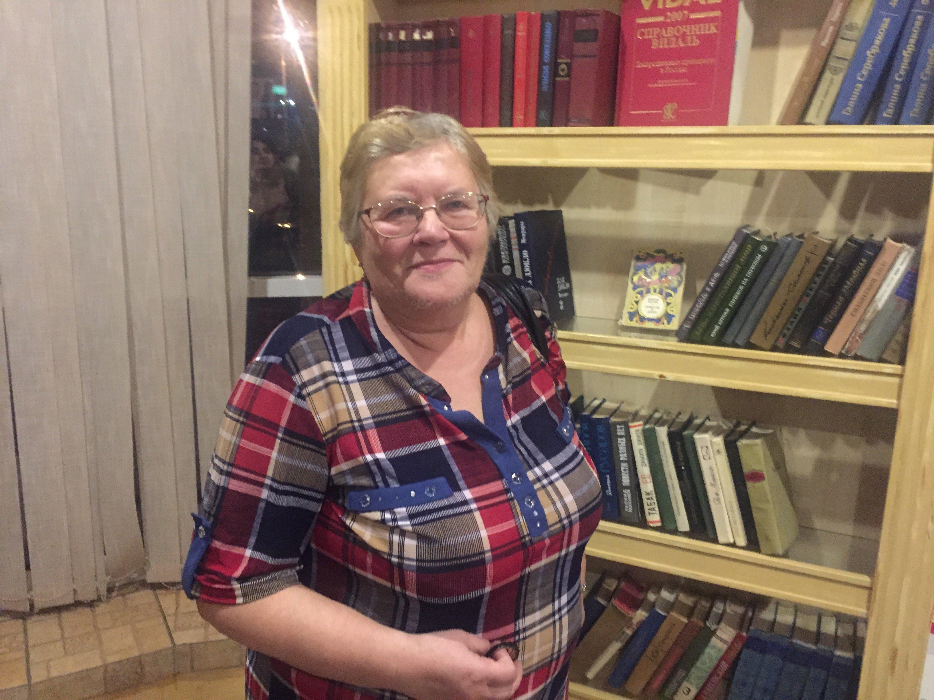 Marina Smirnova, profesora de ciencias humanitarias en la Universidad del Norte de Medicina