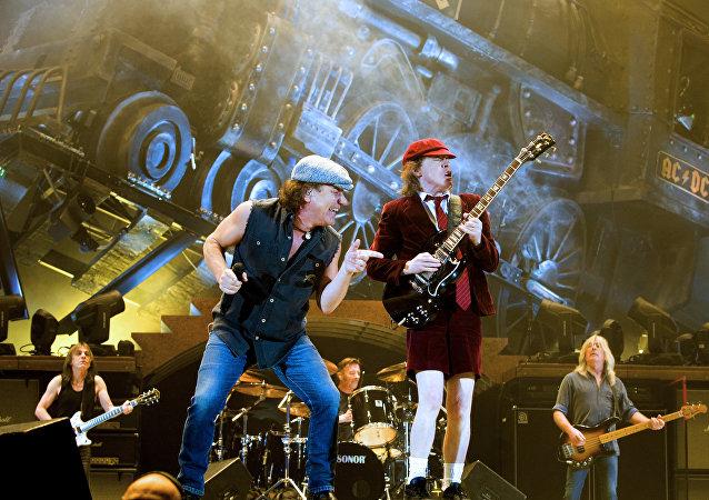 El grupo de rock AC/DC