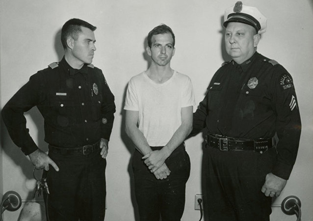 Lee Harvey Oswald, el supuesto asesino de Kennedy