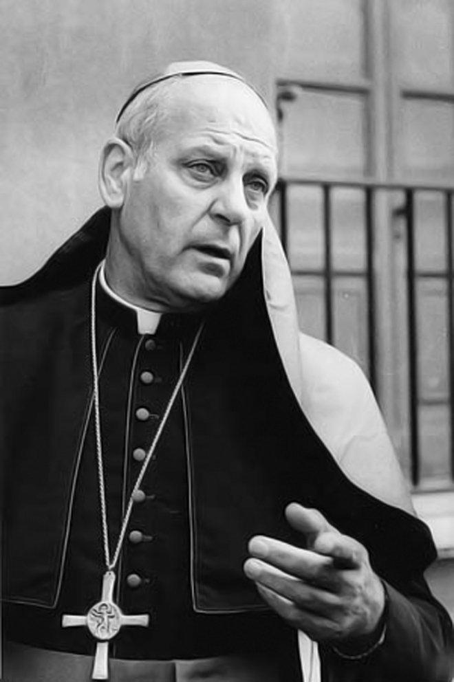 Paul Marcinkus, arzobispo estadounidense y director del Banco Vaticano entre 1971 y 1981 (archivo)