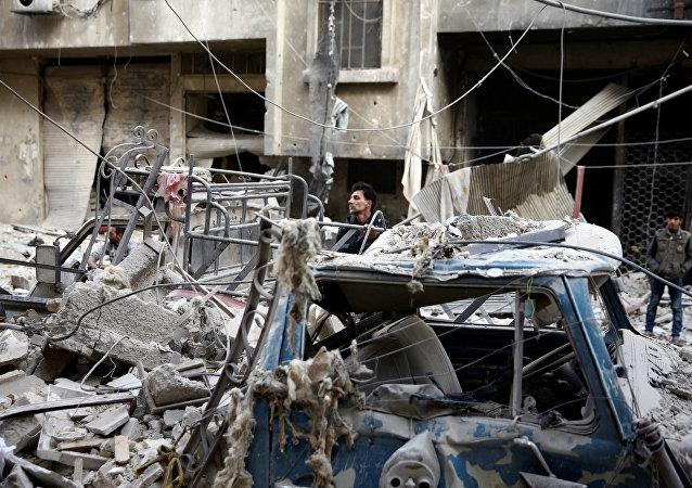 Situación en Damasco, Siria