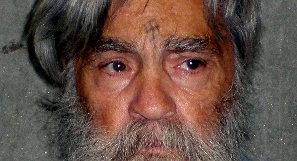 Charles Manson, asesino en serie estadounidense (archivo)