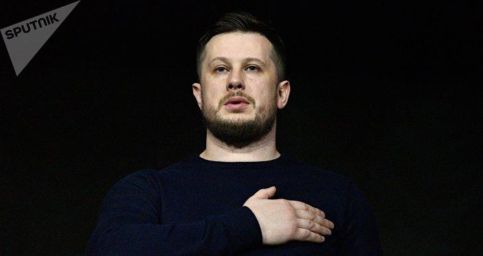 Andriy Biletski, el diputado de la Rada Suprema