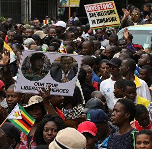 Protestas en Zimbabue