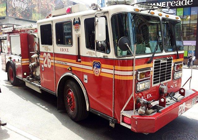 Los bomberos de EEUU (archivo)
