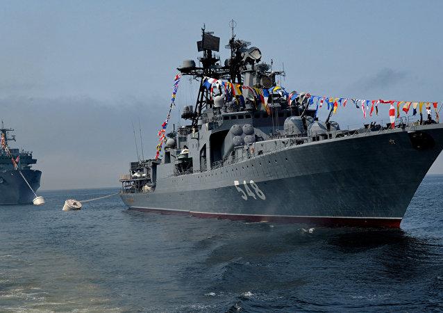El buque ruso Almirante Panteleev (imagen referencial)
