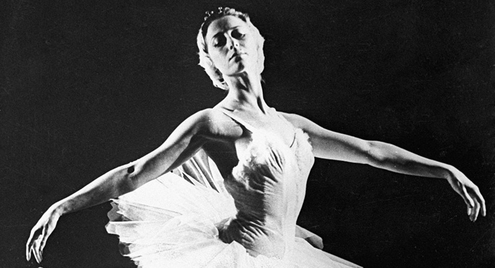 Maya Plisétskaya, bailarina rusa (archivo)