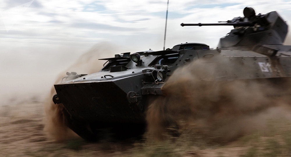 Vehículo blindado de combate ruso