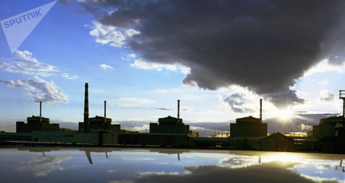 Central nuclear de Zaporozhye en Ucrania
