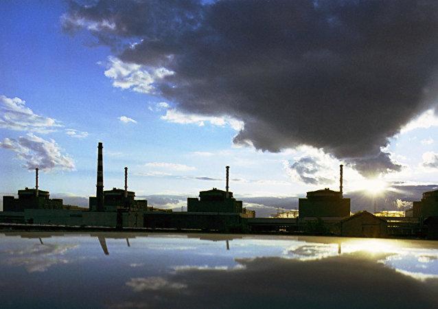 Una central nuclear en Ucrania (imagen referencial)