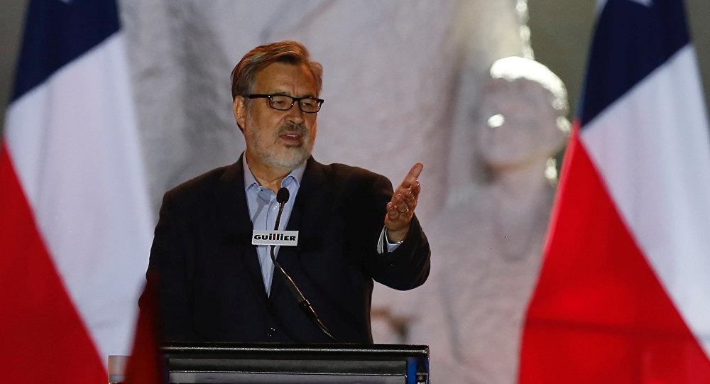 Alejandro Guillier, candidato oficialista chileno