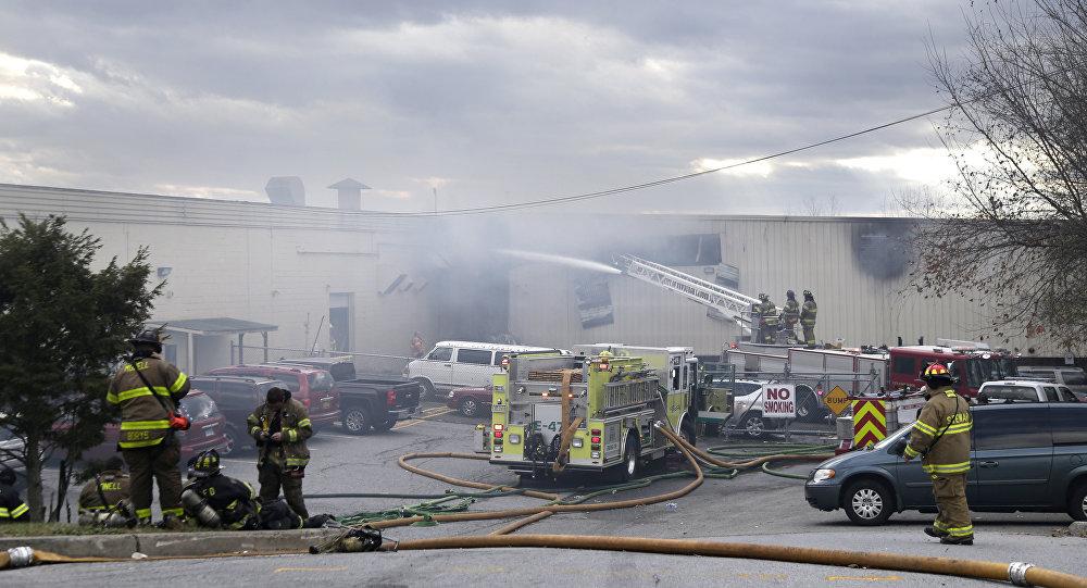 Explosión en fábrica de cosméticos en Nueva York