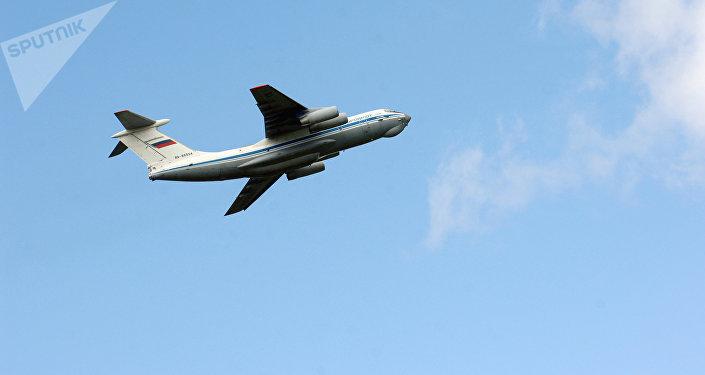 Un avión Il-76 ruso (archivo)
