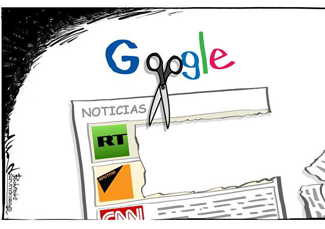 Sputnik, fuente de información 'non grata' en las noticias de Google