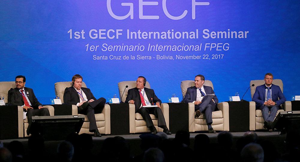 Los participantes del IV Foro de Países Exportadores de Gas en Bolivia