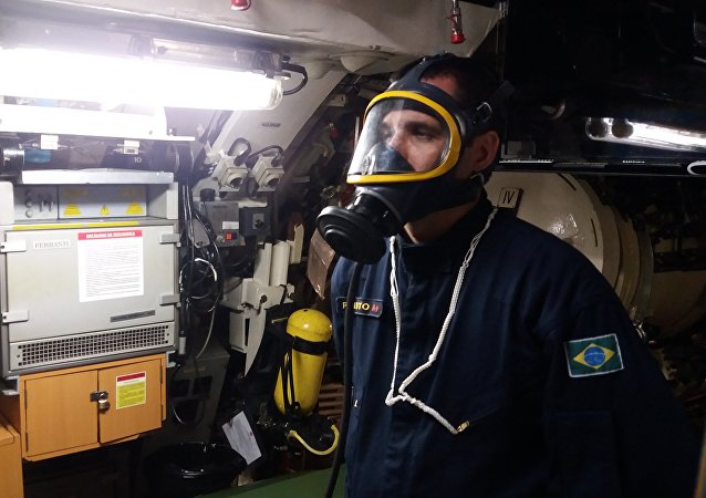 La Marina de Brasil durante la búsqueda del ARA San Juan