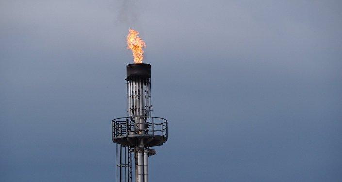 Extracción de gas