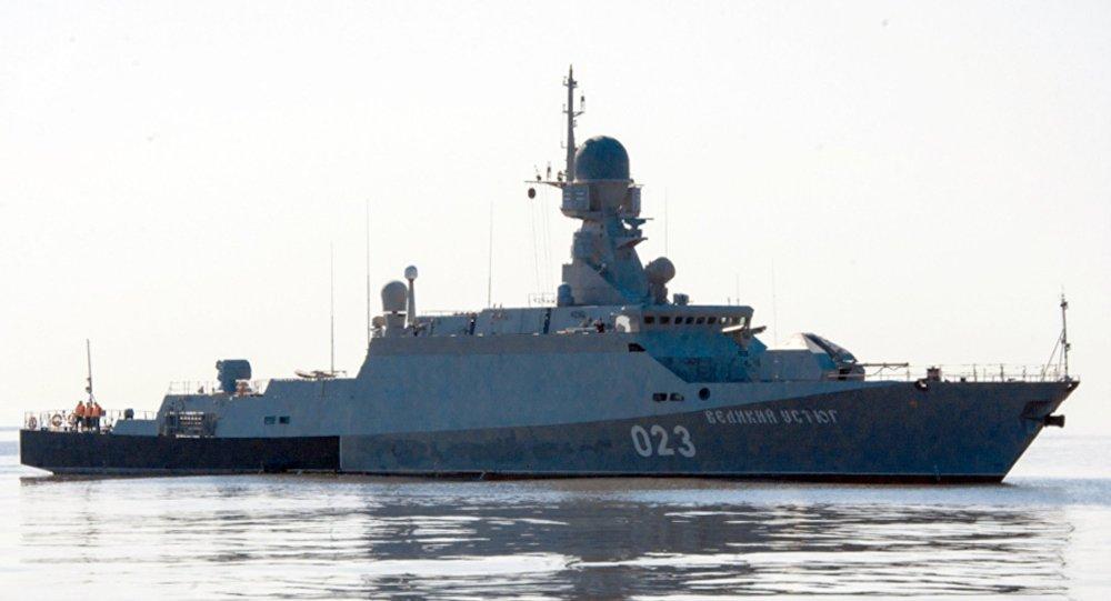 Maniobras militares en el mar Caspio, archivo