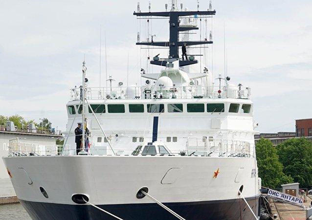 El buque oceanográfico Yantar