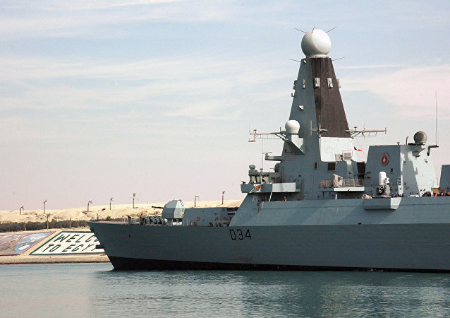 HMS Diamond, destructor de la Marina Real británica