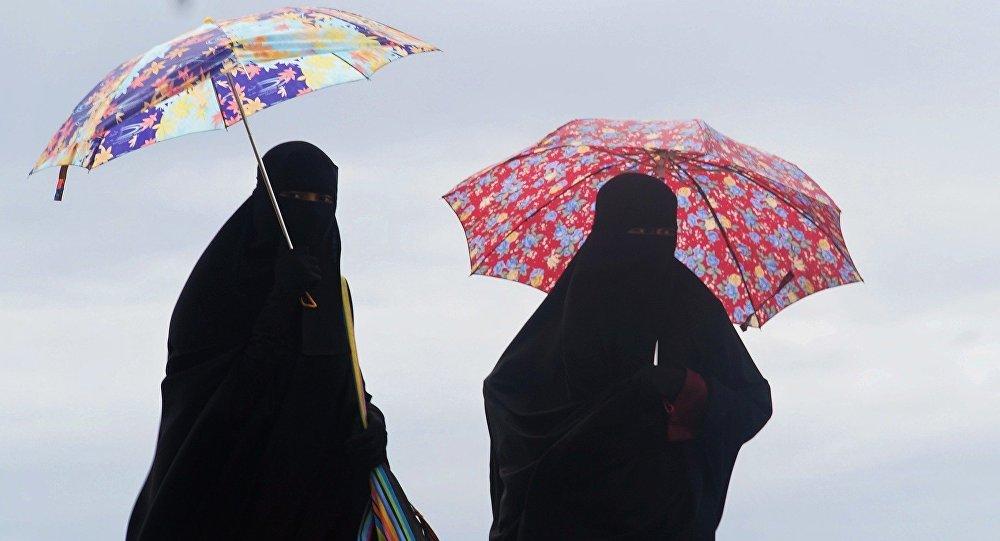 Las mujeres musulmanas (archivo)