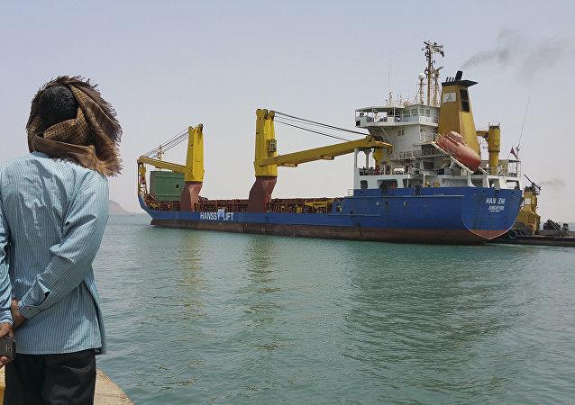 Puerto yemení de Adén (imagen referencial)