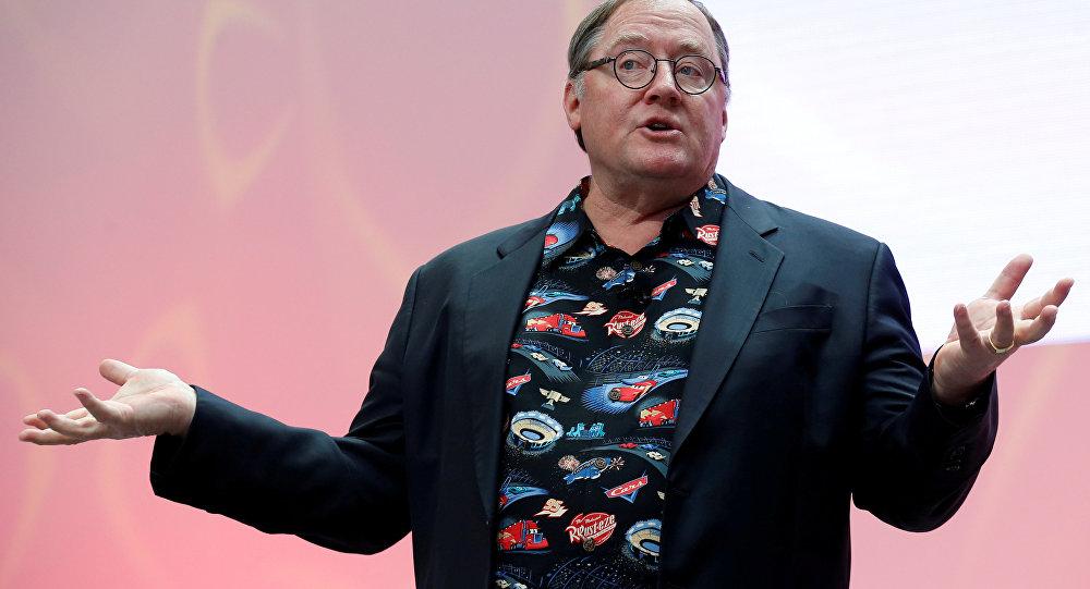 El productor ejecutivo de Pixar, John Lasseter