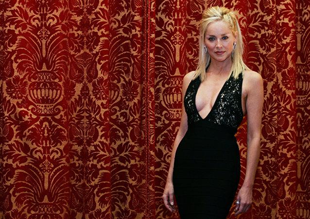 Sharon Stone, actriz estadounidense (archivo)